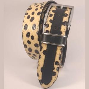 Cintura donna in pelle di...