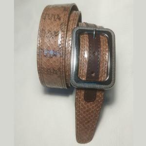 Cintura rettile pelle di...